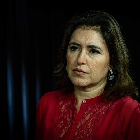 Simone Tebet criticou a equipe econômica e disse que o governo não pode ouvir mais o centrão do que seu ministro - Kleyton Amorim/UOL