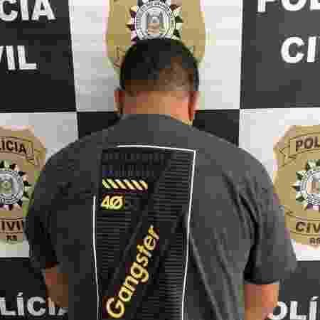 Homem, que não teve o nome divulgado, foi preso em flagrante por apropriação indébita - Polícia Civil/Divulgação