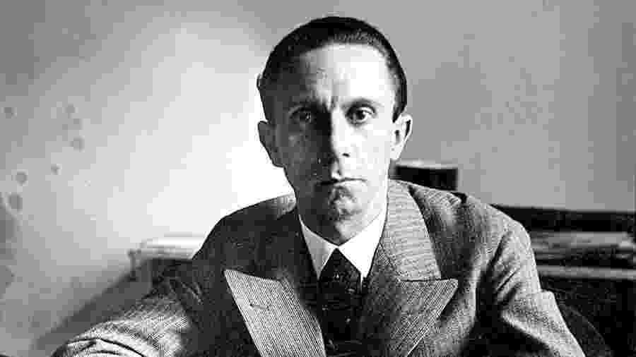 Joseph Goebbels, o ministro e braço direito de Hitler  - Divulgação