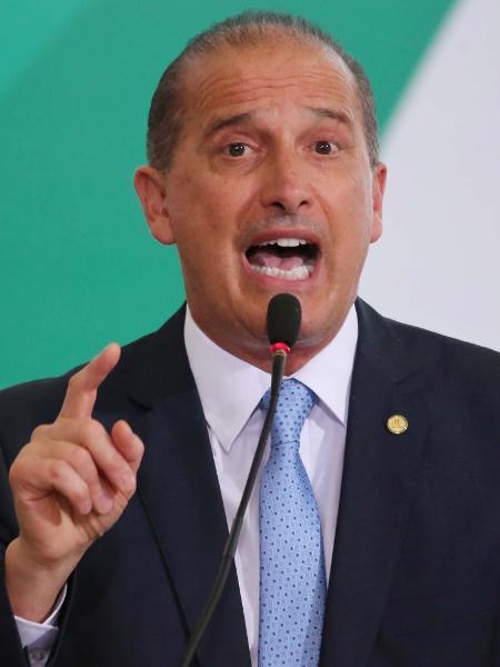 Onyx Lorenzoni, ministro-chefe da Cidadania é o responsável pela divulgação  - Fátima Meira/Futura Press/Estadão Conteúdo
