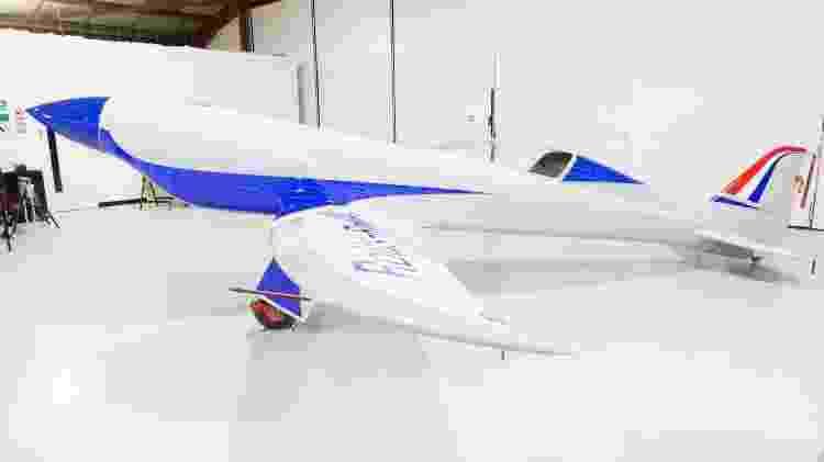 avião elétrico da Rolls-Royce - Divulgação - Divulgação