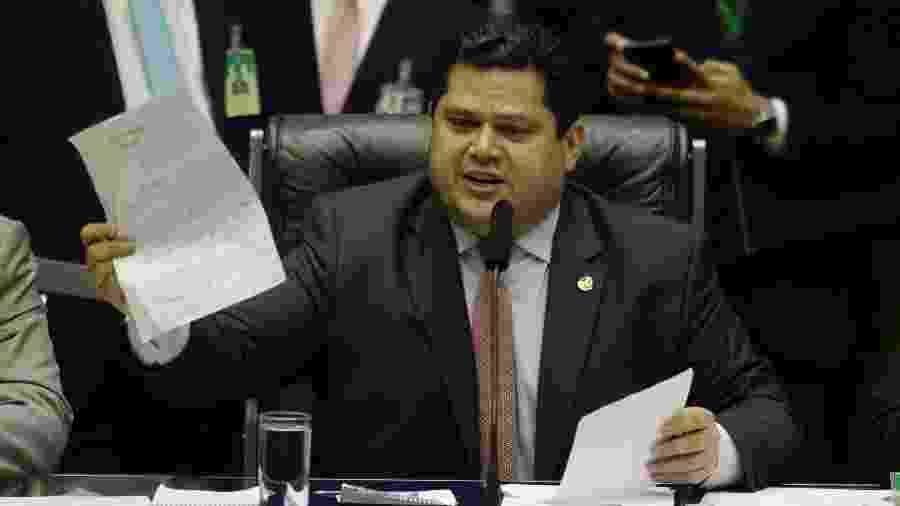 Davi Alcolumbre (DEM-AP), presidente do Senado Federal - Dida Sampaio/Estadão Conteúdo