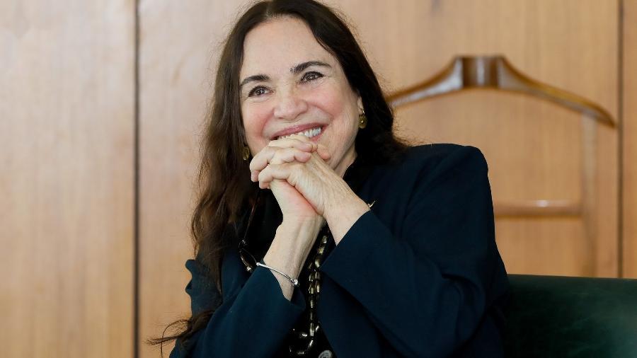 Regina Duarte, em foto de maio de 2020, ainda no cargo de secretária especial da Cultura, em Brasília - Isac Nóbrega/PR