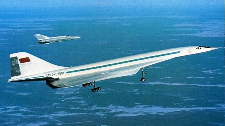 Tupolev TU-144 foi o supersônico comercial mais rápido do mundo - Press release - Press release