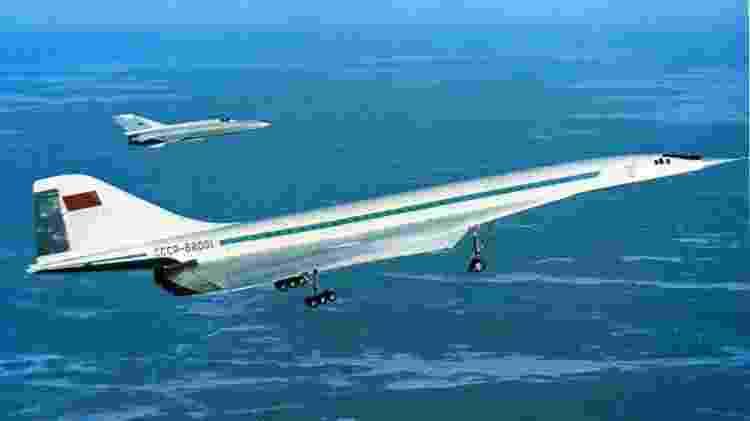 Tupolev TU-144 foi o supersônico comercial mais rápido do mundo - Divulgação - Divulgação