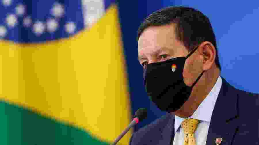 Vice-presidente Hamilton Mourão no Palácio do Planalto - Adriano Machado
