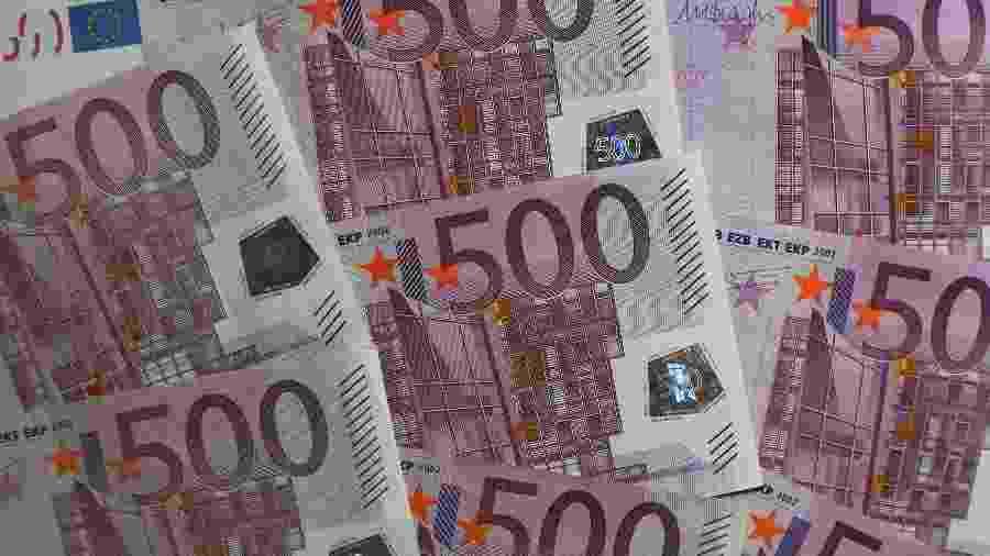 Nota de 500 euros, cédula, dinheiro - Getty Images