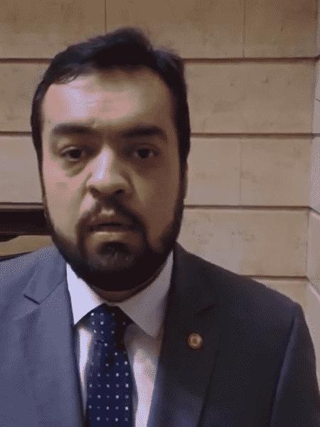 Claudio Castro (PSC), governador em exercício do Rio de Janeiro - Reprodução de vídeo