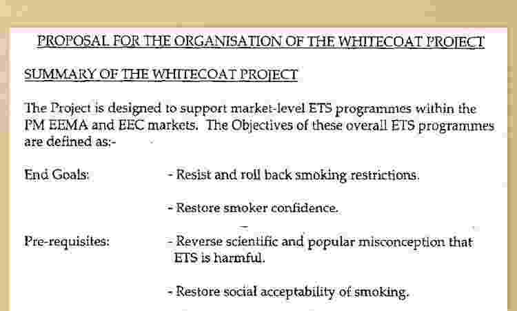 Assim como no debate climático décadas depois, o projeto (chamado Whitecoat;, ou jalecos brancos) colocou cientistas para debater com cientistas - BBC - BBC