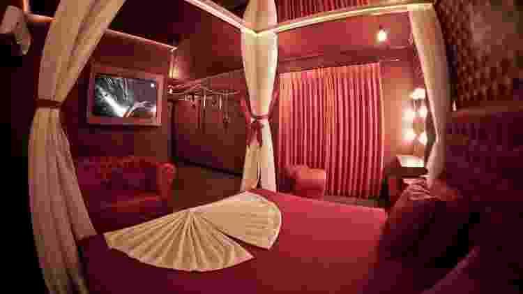 Suite temática do motel Golf, em Osasco (SP) - Divulgação - Divulgação
