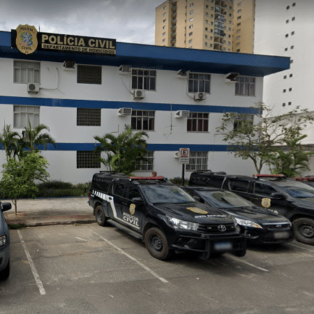 Fachada da Delegacia Especializada de Homicídios e Proteção à Pessoa (DHPP) de Vitória - Reprodução/Google Maps