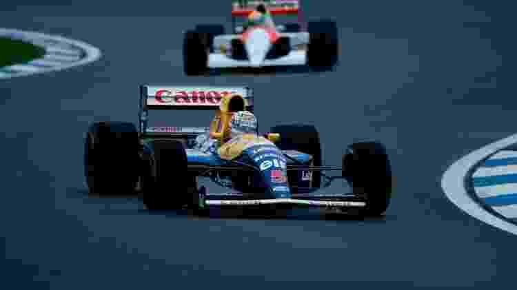 Renault F1 Mansell 91 - Divulgação  - Divulgação