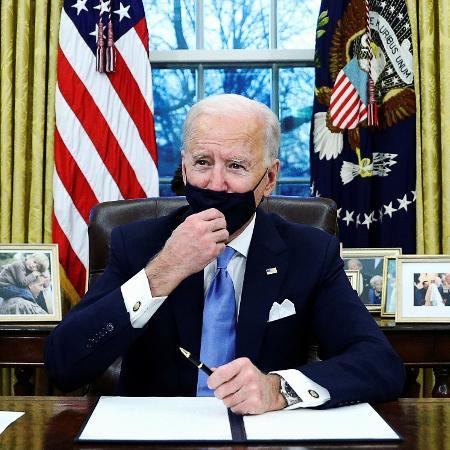 Biden se prepara para editar uma série de decretos sobre o meio ambiente - Tom Brenner/Reuters