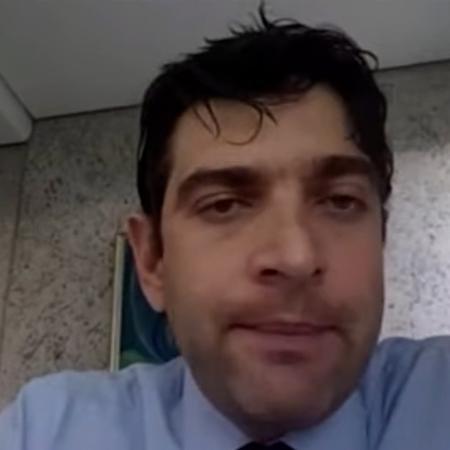 O juiz Mário de Paula Franco Júnior, responsável pelo caso do desastre de Mariana (MG) - Reprodução de vídeo