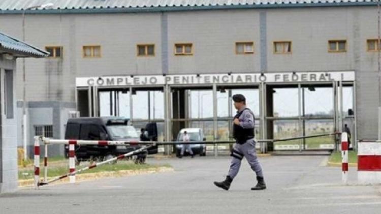 Facciata del complesso carcerario federale di Ezeiza, nella Grande Buenos Aires, dove Orlando Marquis dos Santos, 60, Sarara - Riproduzione - Riproduzione