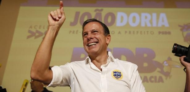 Alberto Goldman diz que há irregularidades na escolha do empresário João Doria Jr. (foto) como pré-candidato do partido à prefeitura de São Paulo - Joel Silva/ Folhapress
