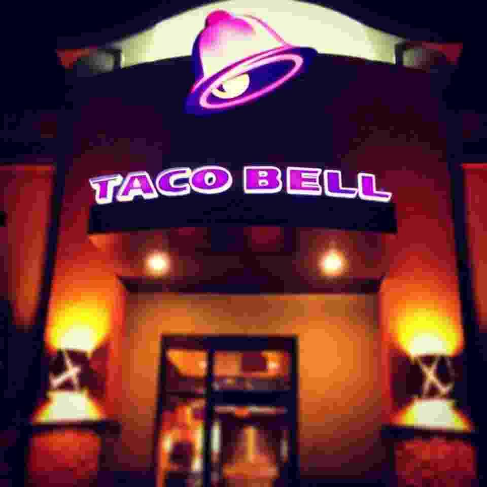 Resturante da rede Taco Bell - Reprodução/Facebook/Tacobell