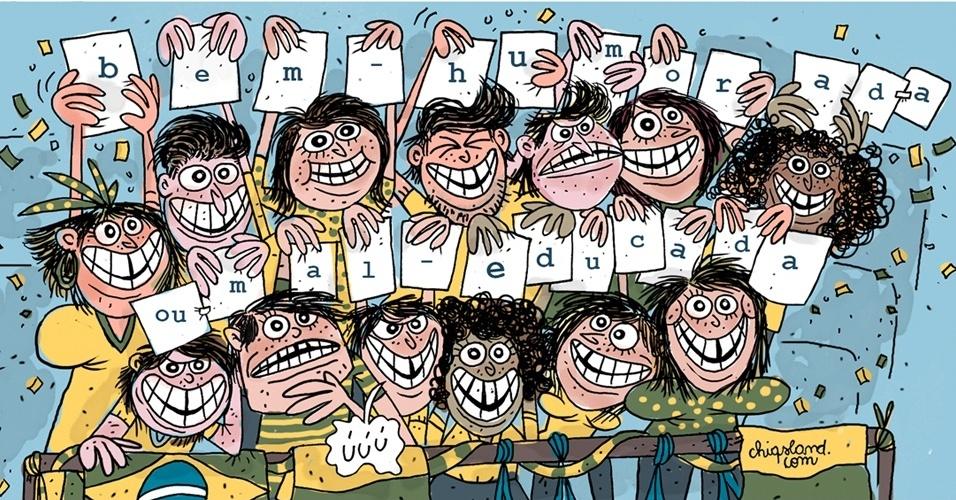 22.ago.2016 - O melhor do Brasil é o brasileiro? Torcida apoiou, mas também vaiou durante os Jogos Olímpicos