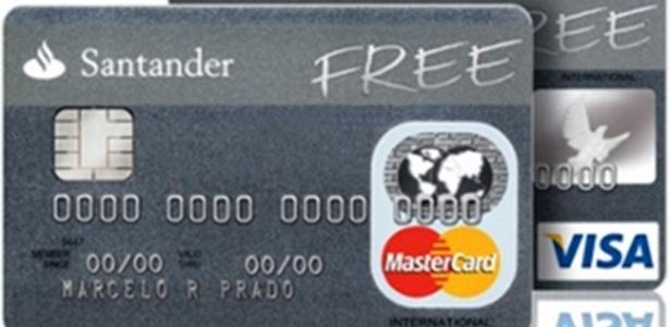 Cartão de crédito Santander Free poderá voltar a ser comercializado