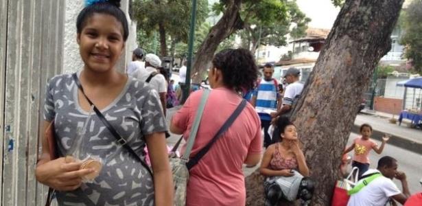 Aos 18 anos, Yarjelis Valera espera a segunda filha