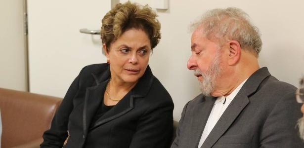 3.fev.2017 - A ex-presidente Dilma Rousseff fez uma vista em solidariedade ao ex-presidente Luiz Inácio Lula no Hospital Sírio Libanês em SP - Divulgação