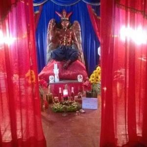 Imagem do templo em Gravataí (RS) onde duas crianças teriam sido esquartejadas em setembro de 2017