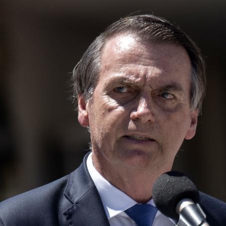 7.mar.2019 - Presidente Jair Bolsonaro, que irá ao Chile neste fim de semana - AFP