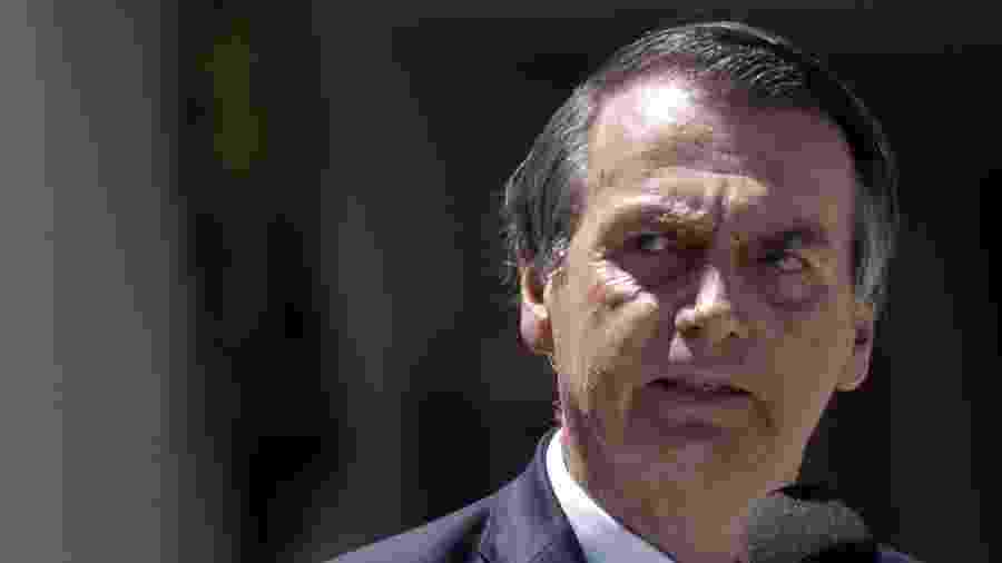 O presidente Jair Bolsonaro (PSL) - AFP