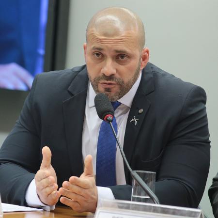O deputado federal Daniel Silveira (PSL-RJ) - Plinio Xavier/Câmara dos Deputados