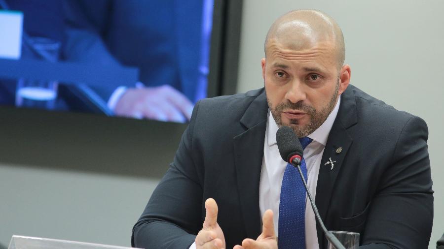 Conselho de Ética da Câmara dos Deputados instaura inquérito que pode levar à cassação de Daniel Silveira (PSL-RJ)  - Plinio Xavier/Câmara dos Deputados