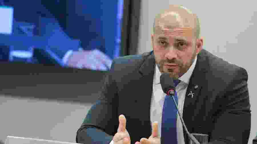 24.abr.2019 - Deputado Daniel Silveira (PSL - RJ) - Plinio Xavier/Câmara dos Deputados