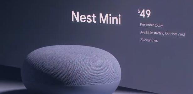 Tecnologia | Rival da Alexa, alto-falante do Google finalmente será vendido no Brasil