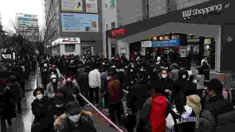 As autoridades sul-coreanas conseguiram achatar a curva de alcance do coronavírus sem haver implementado um confinamento rígido como na Itália - Getty Images