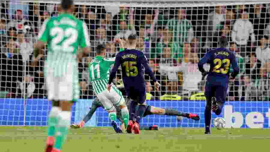 Partida entre Real Betis e Real Madrid - MARCELO DEL POZO