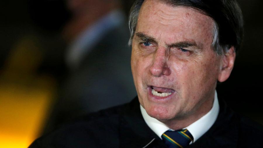 Bolsonaro voltou a questionar os números da pandemia no Brasil - Reprodução
