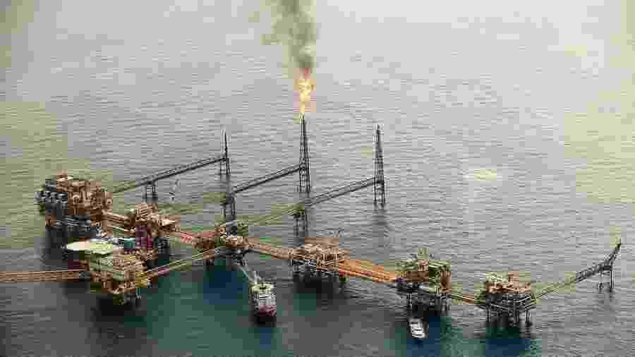O Complexo Cantarell já foi o segundo maior campo de petróleo do mundo - GETTY IMAGES