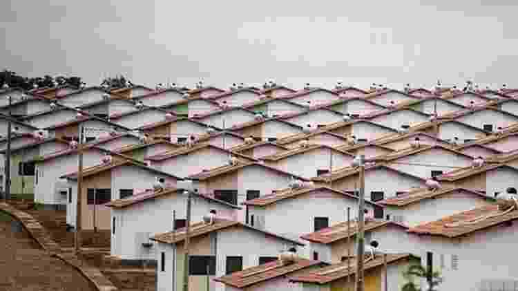 Casas do Minha Casa Minha Vida que estavam em construção devem ser lançadas como parte do Casa Verde Amarela de Bolsonaro - UBIRAJARA MACHADO/MDS - UBIRAJARA MACHADO/MDS