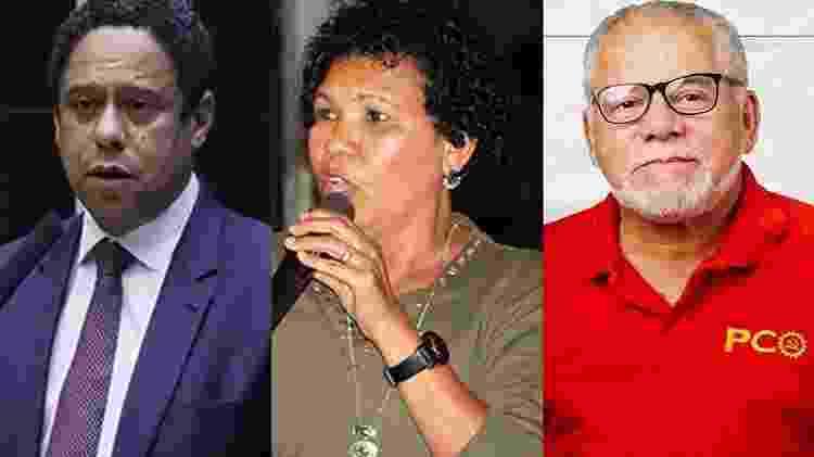 Candidatos negros SP: Orlando Silva, Vera Lúcia e Antonio Carlos - Arte/UOL - Arte/UOL