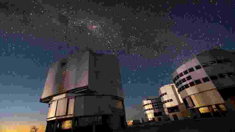 Very Large Telescopes, no Chile: cada prédio abriga um telescópio com 8 metros de diâmetro - Iztok Boncina/ ESO