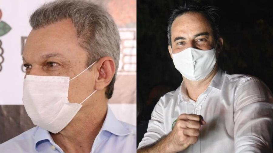 Sarto (PDT) e Capitão Wagner (PROS), candidatos à prefeitura de Fortaleza em 2020 - Reprodução/Facebook