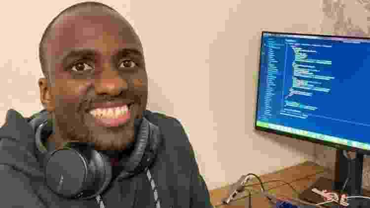 Carl Mungazi deixou jornalismo para estudar programação - Carl Mungazi - Carl Mungazi