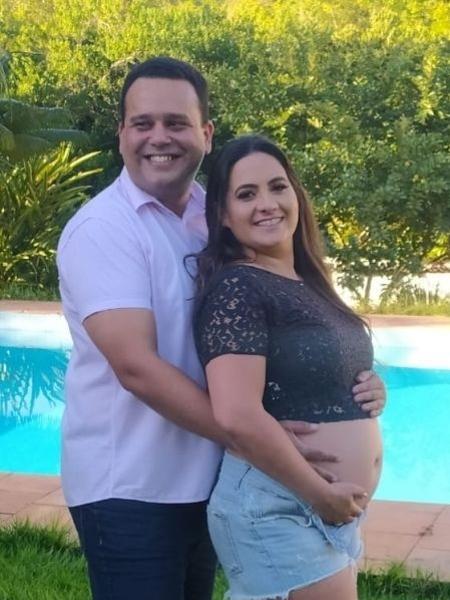 Casal Mariana e Fernando Almeida, que superaram covid-19 - Arquivo pessoal