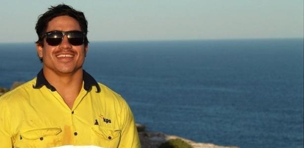 O corpo do mochileiro Rye Hunt, encontrado na praia de Copacabana, no Rio