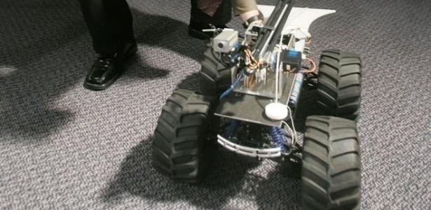 MARCbot foi criado para operações militares dos EUA no Iraque e no Afeganistão pela empresa Exponent