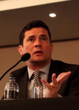 O juiz federal Sérgio Moro, responsável pelos processos da Operação Lava Jato na primeira instância