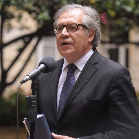 13.out.2016 - Secretário geral da Organização dos Estados Americanos (OEA), Luis Almagro - Colprensa