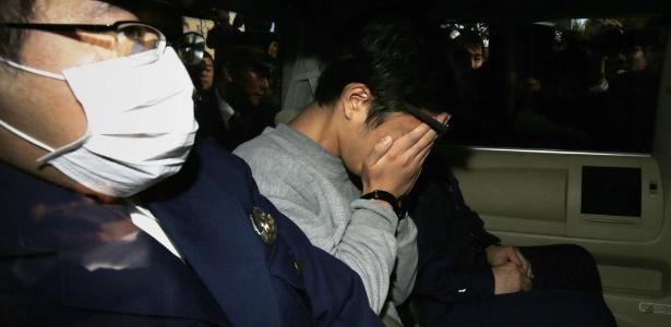 Takahiro Shiraishi é preso pela polícia japonesa