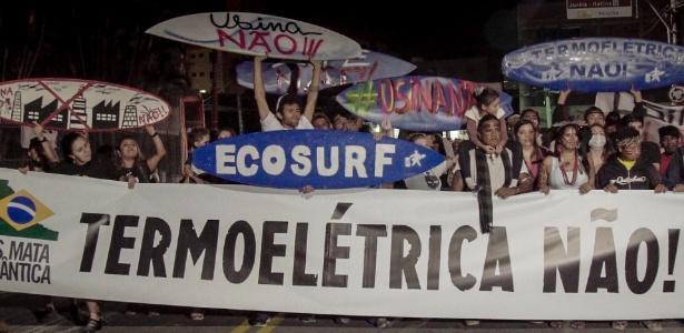 Indígenas e moradores de Peruíbe (SP) protestam contra termelétrica em setembro