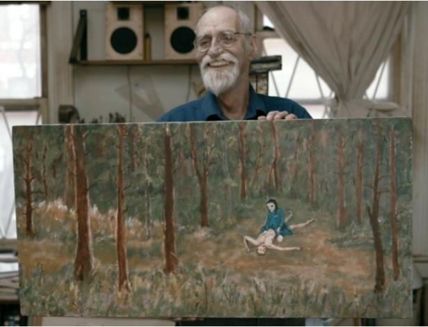 David Huggins pintou em um quadro as suas memórias - Reprodução/Love and Saucers