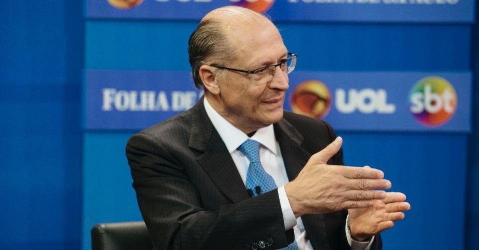 Entrevistado por UOL, Folha e SBT | 'Quem enricar com a política é ladrão', diz Geraldo Alckmin